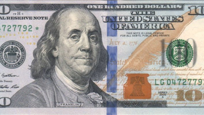 US $100 Dollar Bill