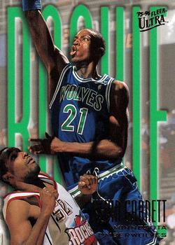 1995-96 Fleer Ultra #274 Kevin Garnett Rookie