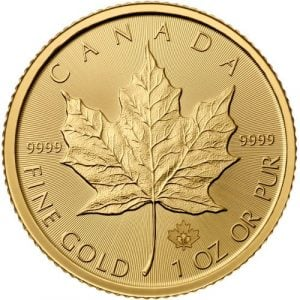 2015 1 oz Canadian Gold Maple Leaf Coin