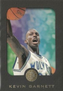 1995-96 Skybox E-XL Kevin Garnett Rookie #49