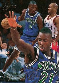 1995-96 Flair Kevin Garnett Rookie #206
