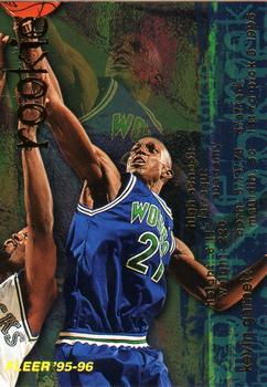 1995-96 Fleer #279 Kevin Garnett Rookie