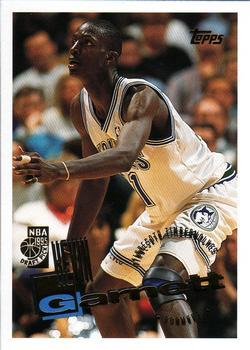 1995-96 Topps Kevin Garnett Rookie #237