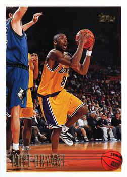 1996-97 Topps Kobe Bryant Rookie