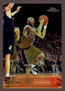 1996-97 Topps Chrome Kobe Bryant Rookie