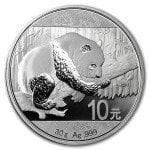 2016 1 oz Chinese Silver Panda Coin