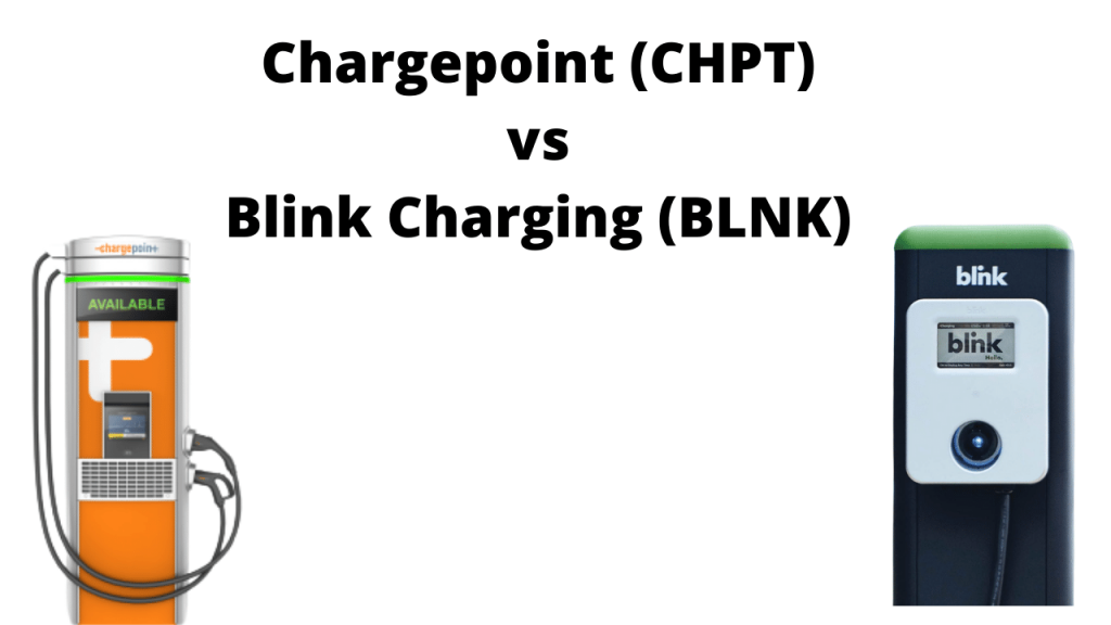 Chargepoint vs Blink Charging Stock Comparison