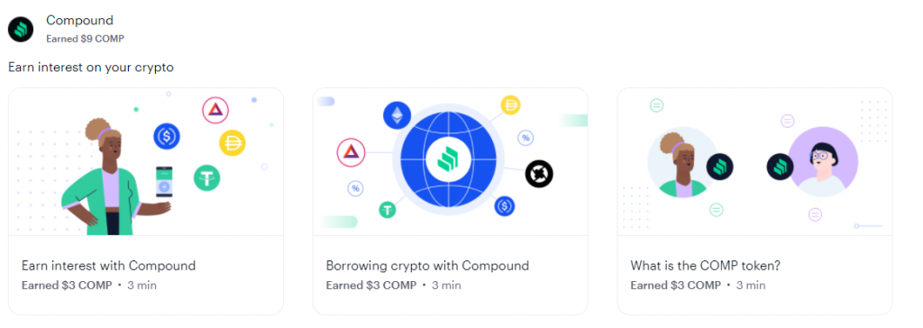 Coinbase Earn Compound Quiz Answers