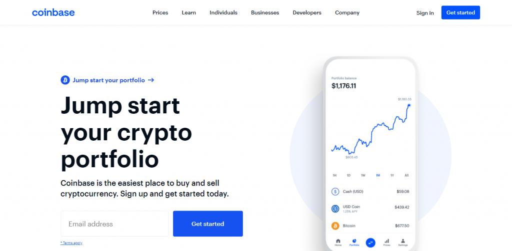 Create a Coinbase Account