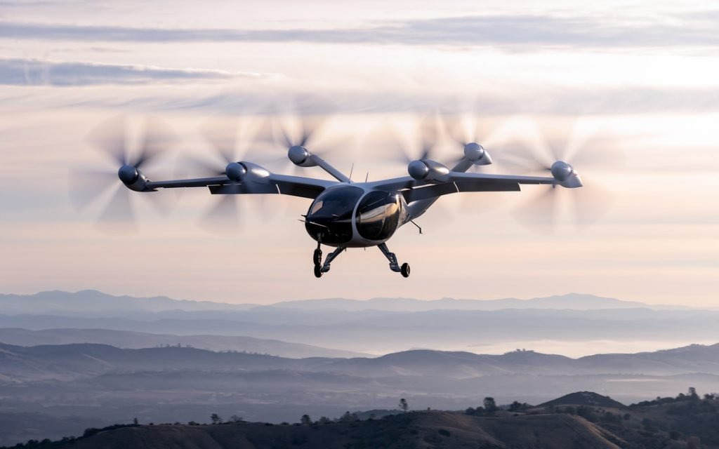 Joby Aviation All-Electric Airdraft