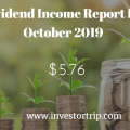 Dividend Income Report for October 2019