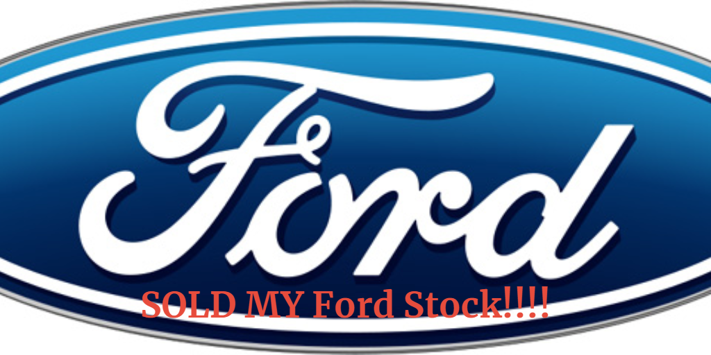 Sold my Ford Stock