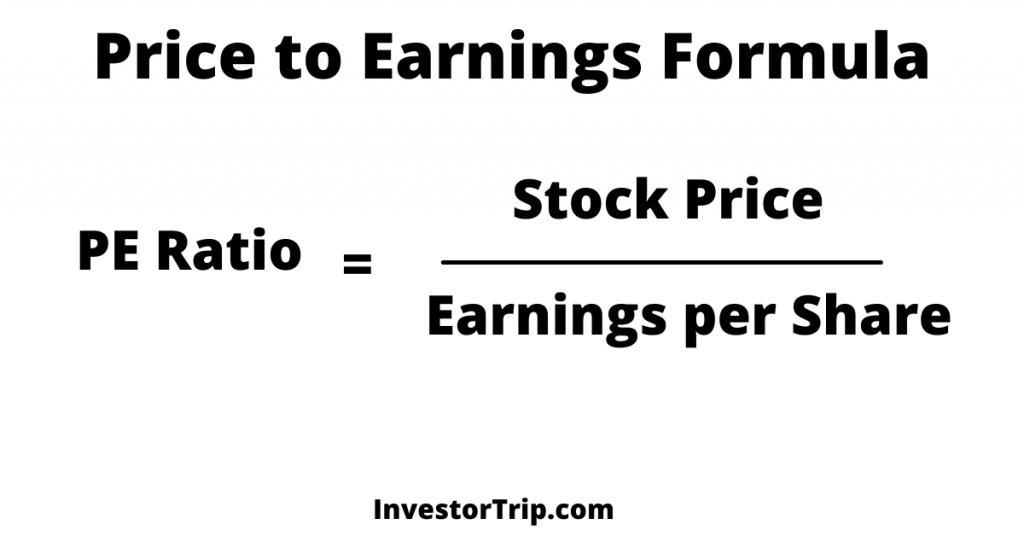 Price to Earnings (P/E Ratio) Formula